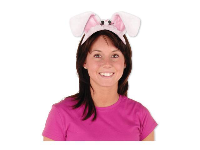 Beistle Home Party Supplies Plush Bunny Ears Headband