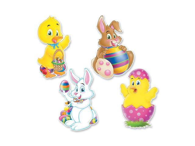 Beistle Home Party Supplies Easter Cutouts 14