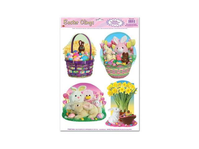 Beistle Home Party Supplies Easter Candy Clings 12