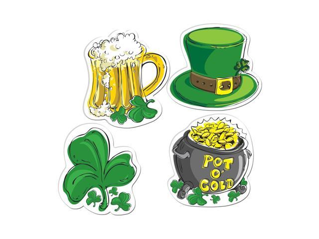 Beistle Home Party Supplies Pkgd St Patrick's Day Cutouts 16