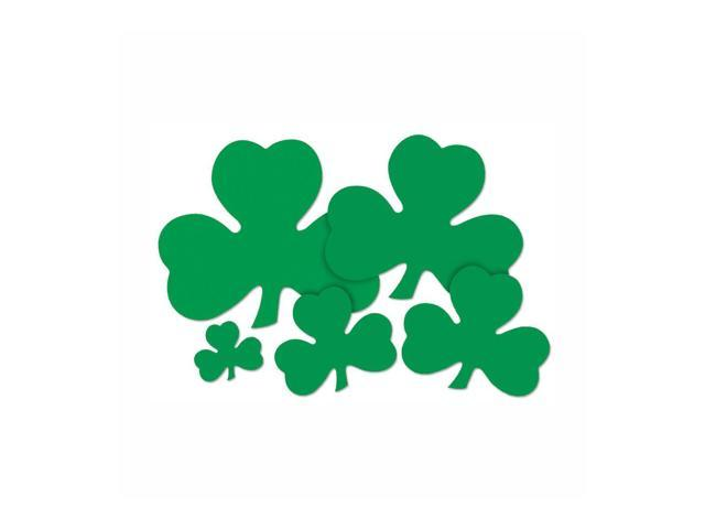 Beistle Home Party Supplies Printed Shamrock Cutout 20
