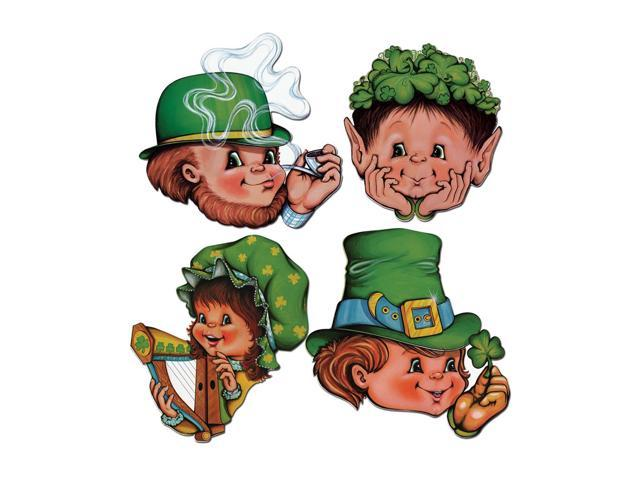 Beistle Home Party Supplies St Patrick Cutouts 12