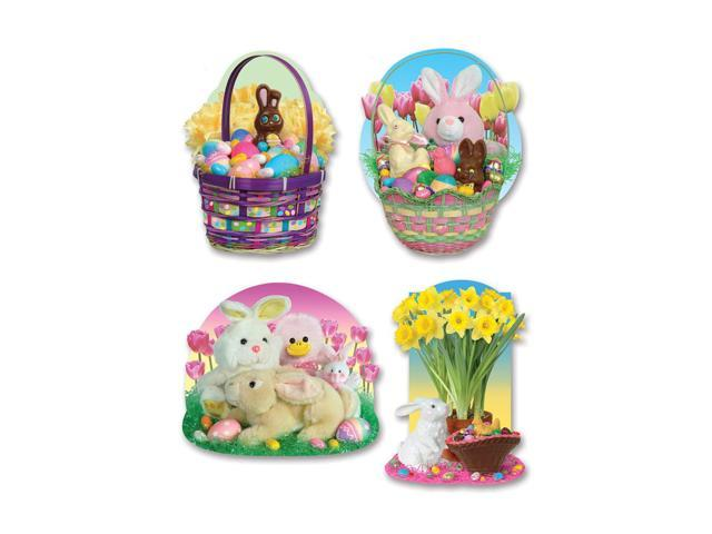 Beistle Home Party Supplies Easter Candy Cutouts 16