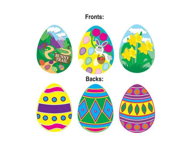 Beistle Home Party Supplies Pkgd Easter Egg Cutouts 14