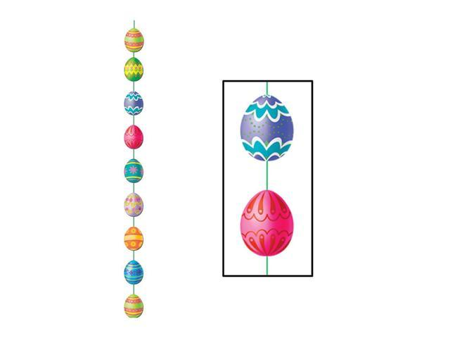 Beistle Home Party Supplies Easter Egg Stringer 6' 6