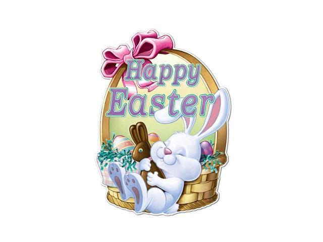 Beistle Home Party Supplies Happy Easter Sign 24