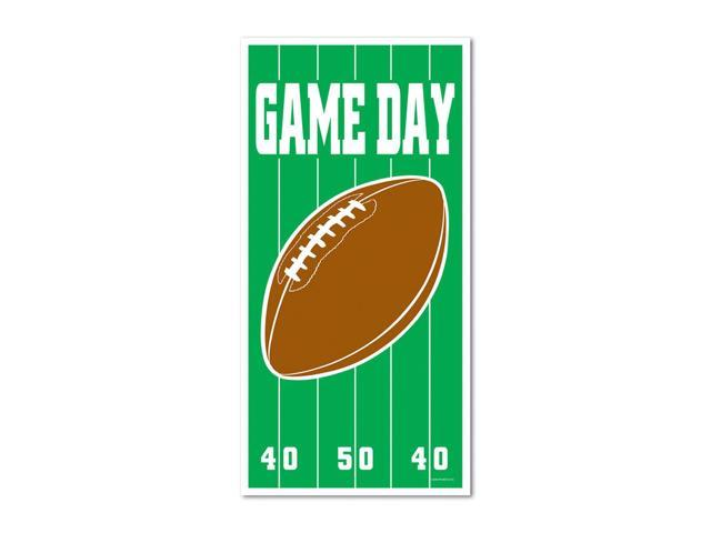 Beistle Home Party Supplies Game Day Football Door Cover 30