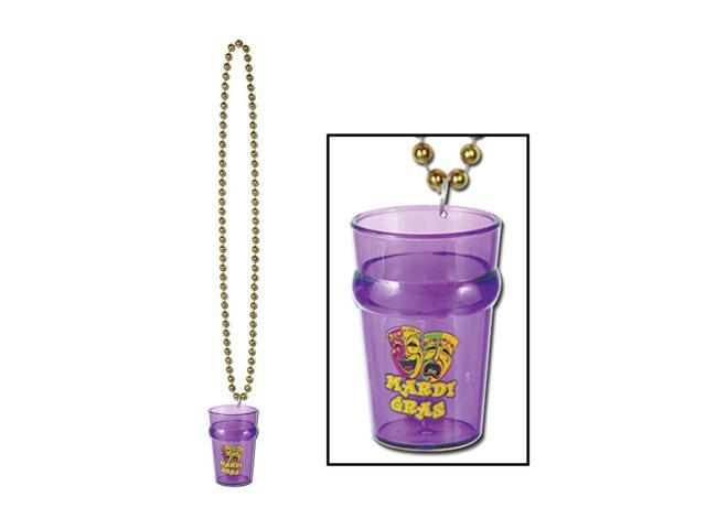 Beistle Home Party Supplies Beads with Mardi Gras Glass 33