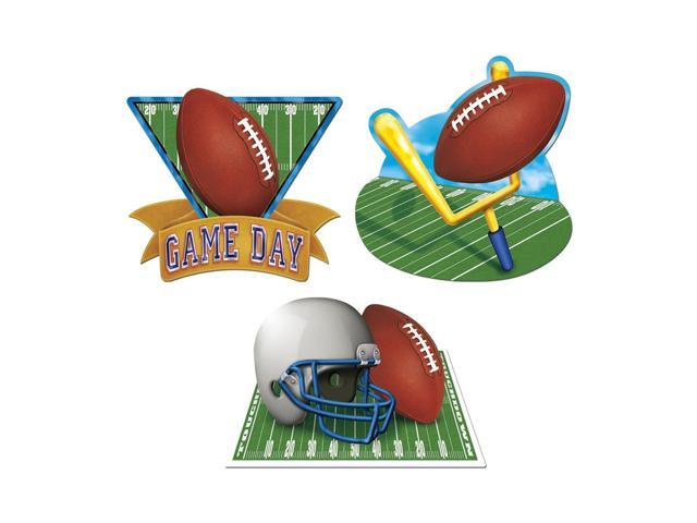 Beistle Home Party Supplies Game Day Football Cutouts 18