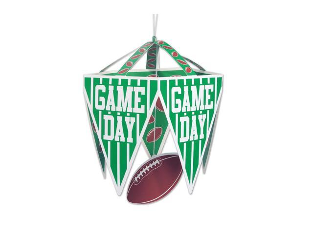Beistle Home Festival Party Supplies Game Day Pennant Chandelier 11 1/2