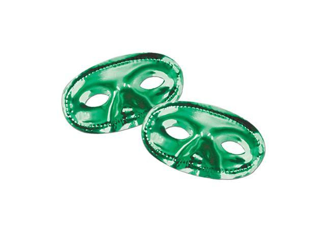 Beistle Home Festival Party Supplies Metallic Half Mask - Green