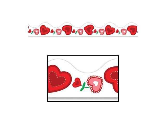 Beistle Home Festival Party Supplies Valentine Border Trim 37' Total (12 Ct)