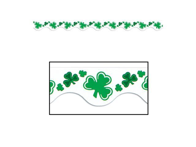 Beistle Home Festival Party Supplies St Patrick Border Trim 37' Total (12 Ct)