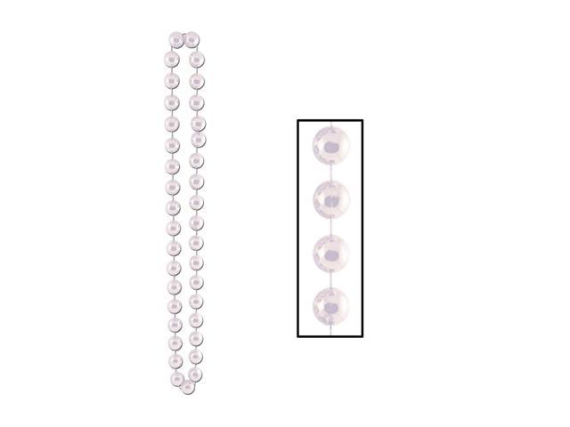 Beistle Home Festival Party Supplies Jumbo Party Beads 22mm x 40