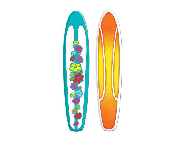 Beistle Home Party Supplies Jointed Surfboard 5'