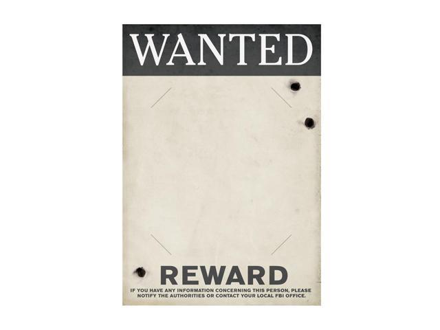 Beistle Home Decorations Party Supplies Gangster Wanted Sign 17