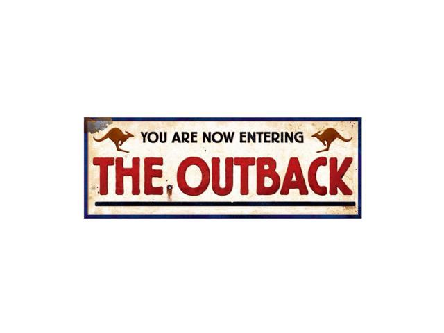 Beistle Home Decorations Party Supplies Outback Sign 8