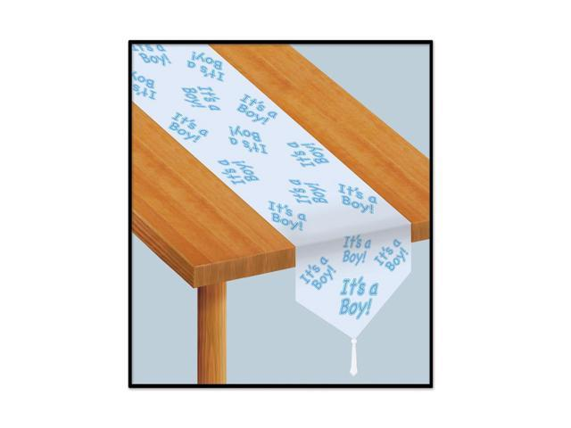 Beistle Home Decorations Party Supplies Printed It's A Boy Table Runner 11