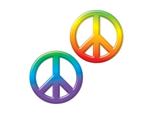 Beistle Home Decorations Party Supplies Plastic Peace Sign 9
