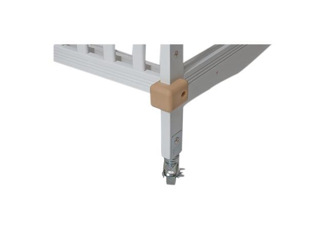 Foundations Crib Saver Crib Bumpers With Chrome Hardware