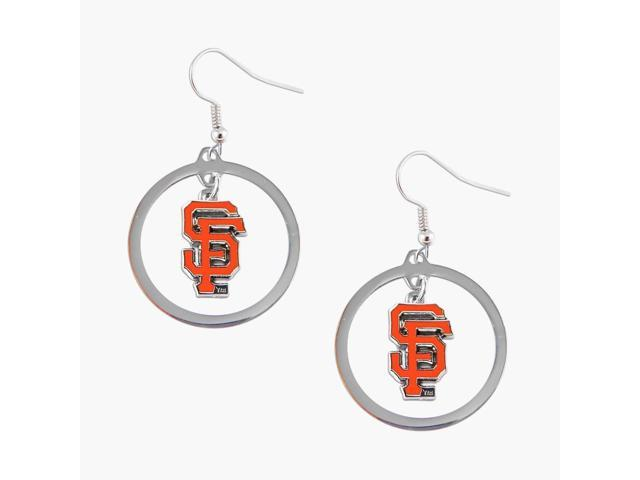 San Francisco Giants Hoop Logo Earring Set Mlb Charm