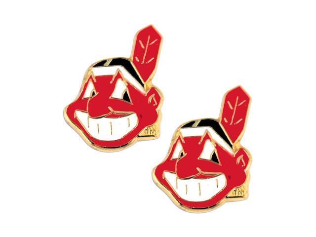 Cleveland Indians Post Stud Logo Earring Set Mlb Charm