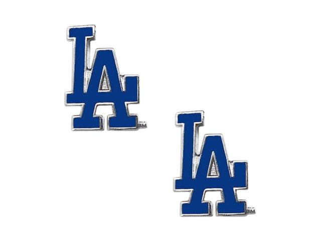 Los Angeles Dodgers Post Stud Logo Earring Set Mlb Charm