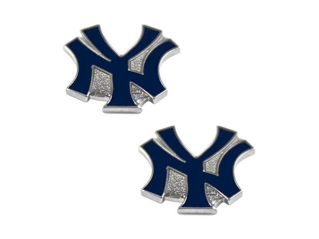 New York Yankees Post Stud Logo Earring Set Mlb Charm