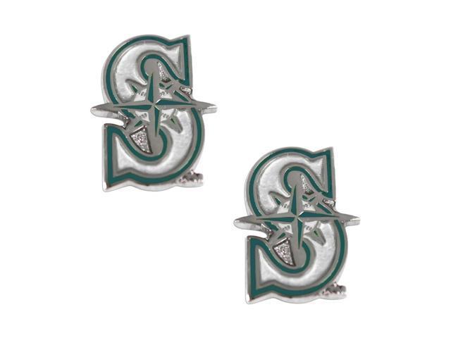 Seattle Mariners Post Stud Logo Earring Set Mlb Charm