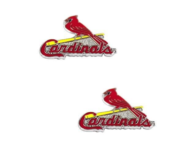 St Louis Cardinals Post Stud Logo Earring Set Mlb Charm