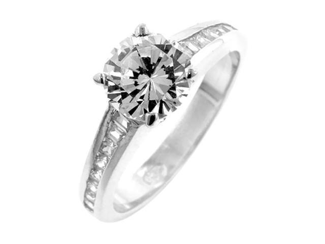 J Goodin Cubic Zirconia Engagement Ring Size 7