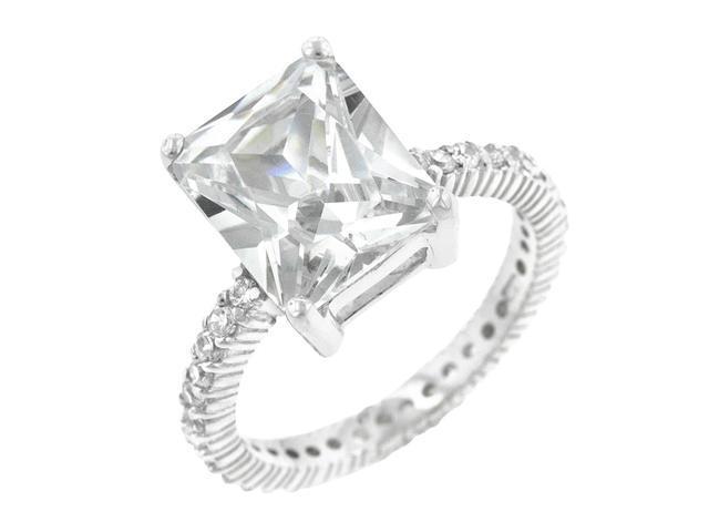J Goodin Radiant Cut Engagement Ring Size 9