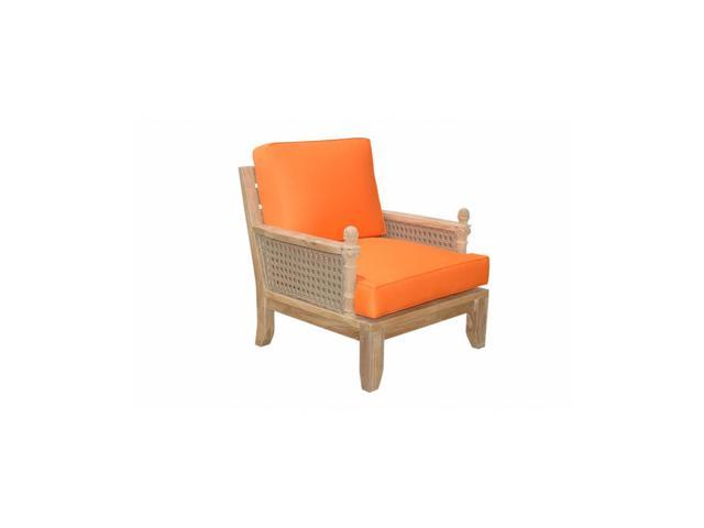 Anderson Teak Patio Lawn Furniture Luxe Armchair