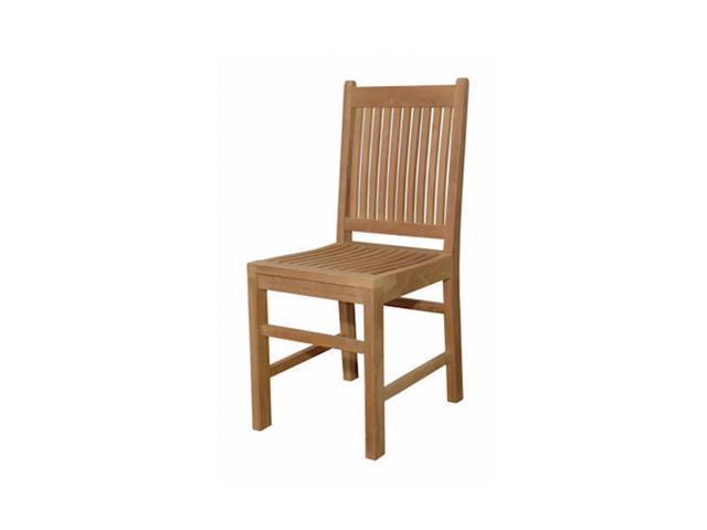 Anderson Teak Patio Lawn Furniture Saratoga Dining Chair