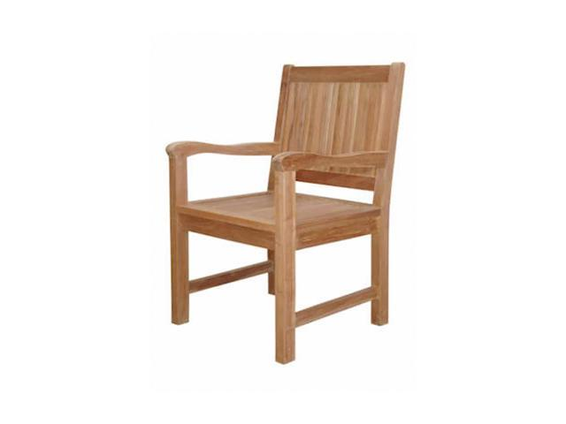 Anderson Teak Patio Lawn Furniture Chester Dining Armchair