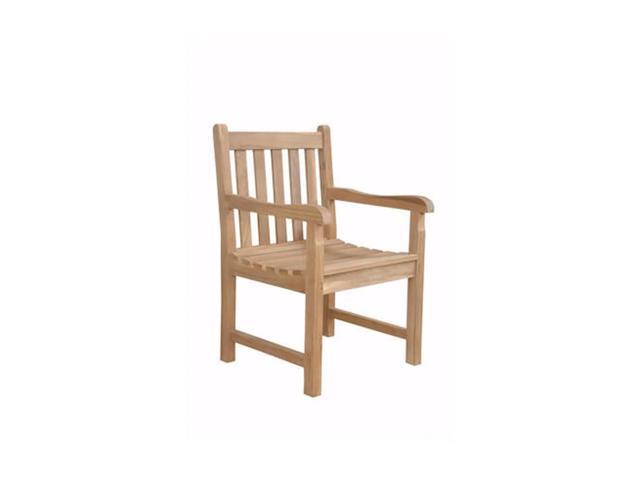 Anderson Teak Patio Lawn Furniture Braxton Dining Armchair