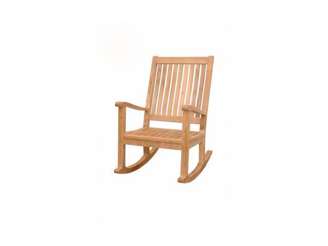 Anderson Teak Patio Lawn Furniture Del-Amo Rocking Armchair