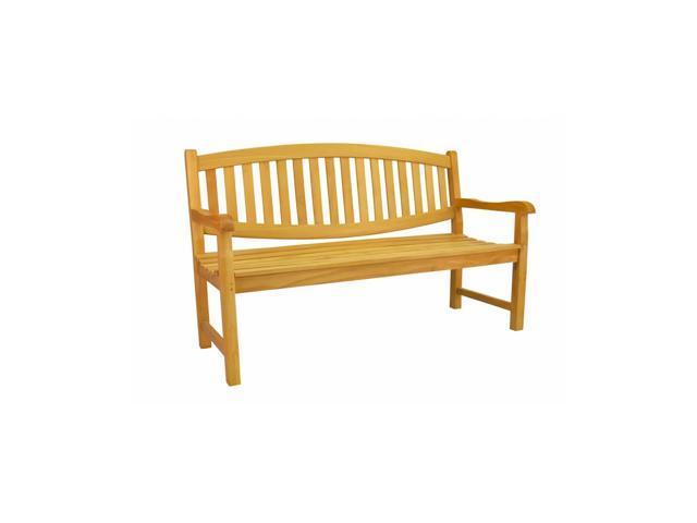 Anderson Teak Patio Lawn Furniture Kingston 3-Seater Bench