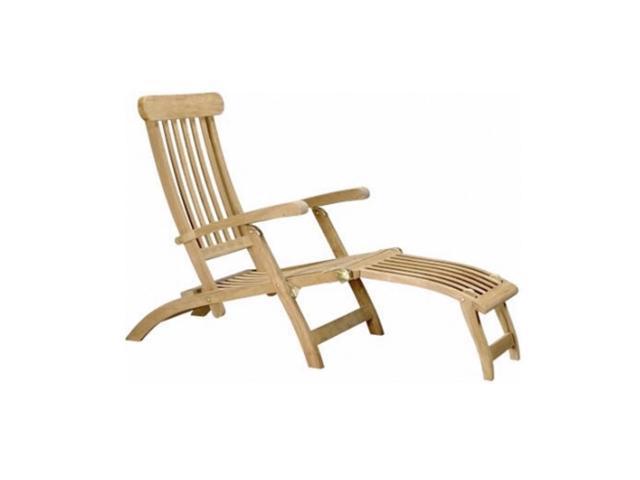 Anderson Teak Patio Lawn Furniture Royal Steamer Armchair