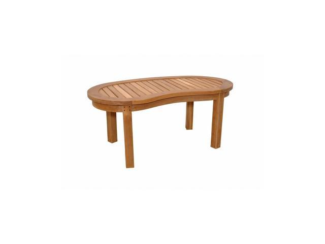 Anderson Teak Patio Lawn Furniture Kidney Table (Curve Table)