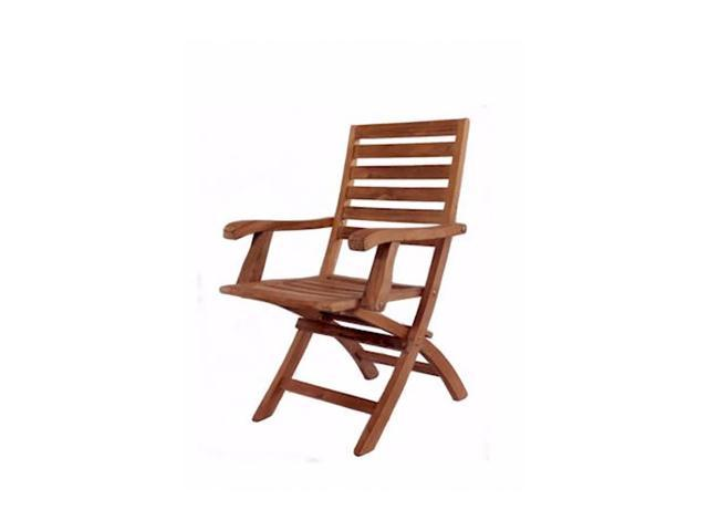 Anderson Teak Patio Lawn Furniture Andrew Folding Armchair