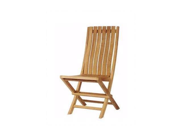 Anderson Teak Patio Lawn Furniture Comfort Folding Chair