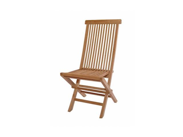 Anderson Teak Patio Lawn Furniture Classic Folding Chair
