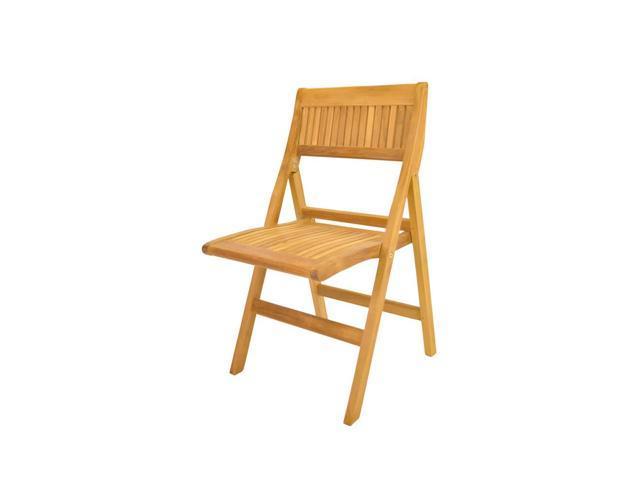 Anderson Teak Patio Lawn Furniture Windsor Folding Chair