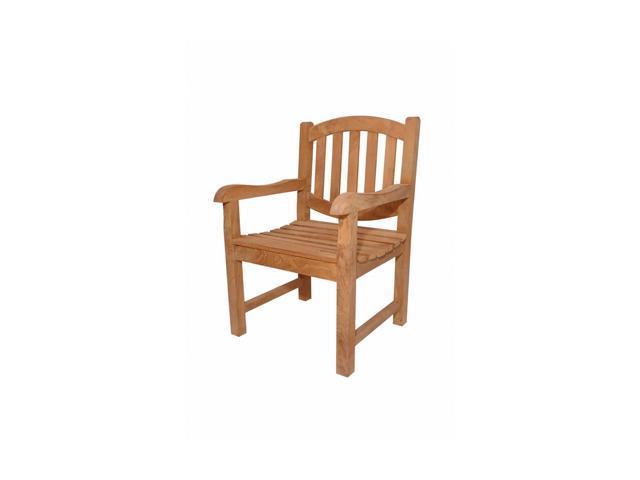 Anderson Teak Patio Lawn Furniture Kingston Dining Armchair