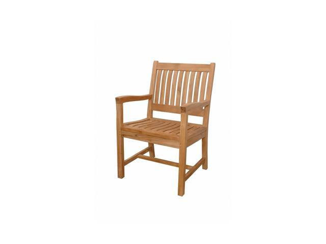 Anderson Teak Patio Lawn Furniture Rialto Armchair