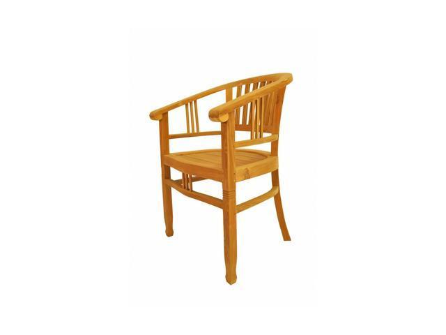 Anderson Teak Patio Lawn Furniture Captain's Armchair