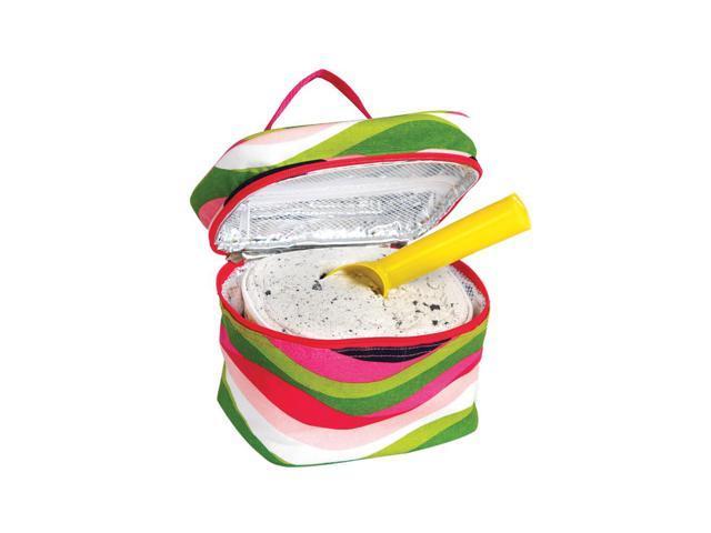 Picnic Plus Ice Cream Carrier Wavy Watermelon