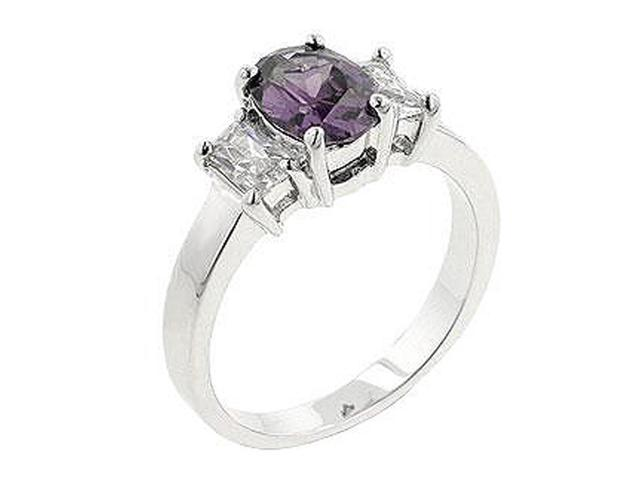 J Goodin Lilac Engagement Ring Size 9