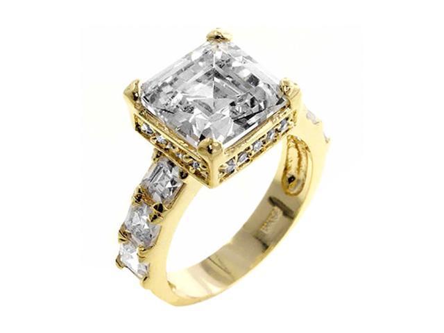 J Goodin Music Box Engagement Ring Size 10